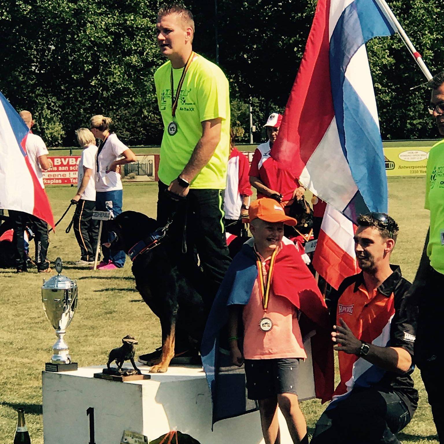 Finn vom Erpenstein IFR Wereldkampioen 2017